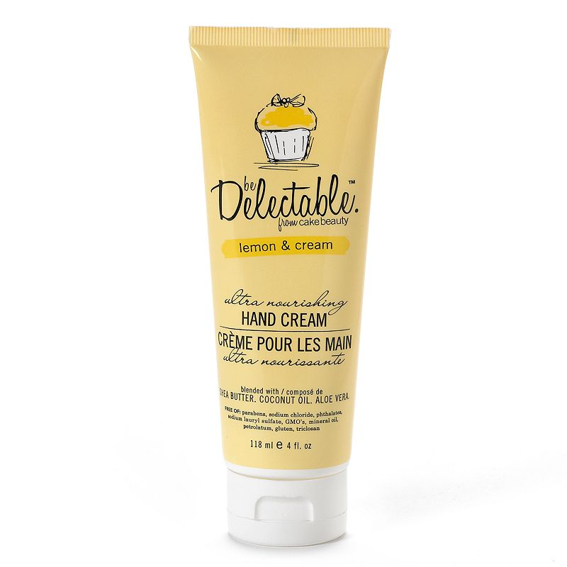 be Delectable from Cake Beauty Lemon & Cream Hand Cream (Yellow)