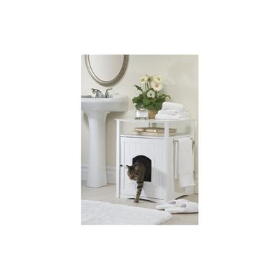 Merry Products Washroom Pet House in White