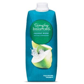 Simply Balanced Coconut Water