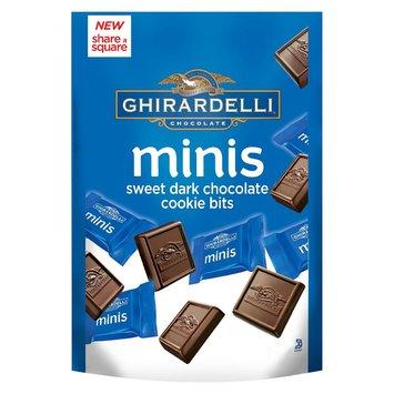 Ghirardelli Minis Sweet Dark Chocolate Cookie Bits 4.1 oz