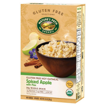 Nature's Path Hot Oatmeal Gluten Free Spiced Apple with Flax - 8 Packets