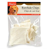 Hartz Dental Rawhide Chip for Pet Dog Treat