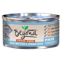 Purina Beyond Natural Cat Food Grain Free Ocean Whitefish & Spinach