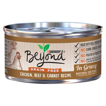 Purina Beyond Natural Cat Food Grain Free Chicken Beef & Carrot