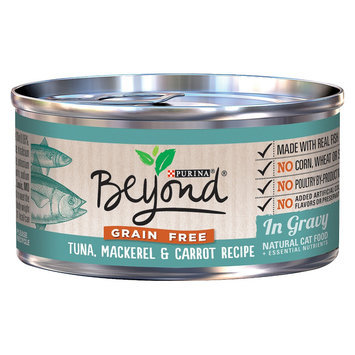 Purina Beyond Natural Cat Food Grain Free Tuna Mackerel & Carrot