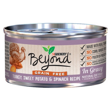 Purina Beyond Natural Cat Food Grain Free Turkey Sweet Potato &
