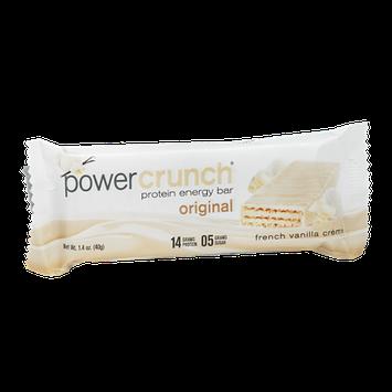 Power Crunch Protein Energy Bar Original French Vanilla