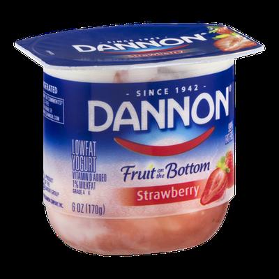 Dannon Fruit on the Bottom Lowfat Yogurt Strawberry