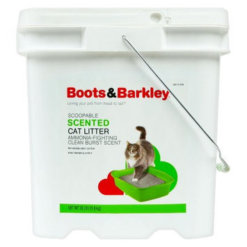 Boots & Barkley Scoopable Scented Cat Litter Pail 35 lbs