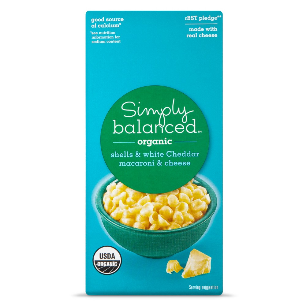 Simply Balanced Mac & Cheese Organic White Cheddar 6oz