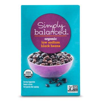 Simply Balanced Organic Low Sodium Black Beans 13.4oz