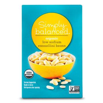 Simply Balanced Organic Low Sodium Cannellini Beans 13.4oz