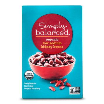 Simply Balanced Organic Low Sodium Kidney Beans 13.4oz