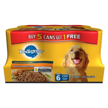 Mars Incorporated Pedigree Traditional Ground Dinner with Chopped Chicken Bonus 8.25 lb.