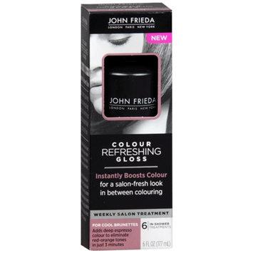 John Frieda Color Refreshing Gloss for Cool Brunettes - 6 oz