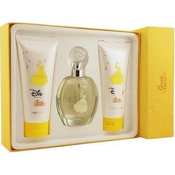 Beauty & The Beast By Disney For Women. Set-edt Spray 3.4 Ounces & Body Lotion 6.8 Ounces & Shower Gel 6.8 Ounces