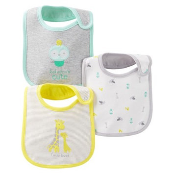 Just One You Made By Carter's Just One YouMade by Carter's Newborn 3 Pack Bib Set - Yellow