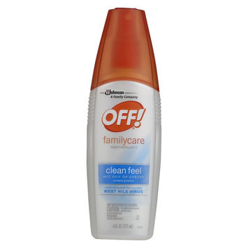 OFF! FamilyCare Insect Repellent Clean Feel 6floz