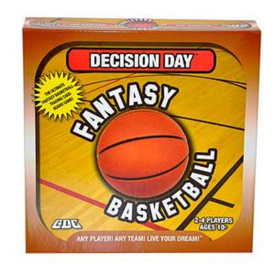 GDC-GameDevCo Decision DayFantasy Basketball, Ages 10+, 1 ea