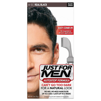 Combe Incorporated JUST FOR MEN Autostop Real Black