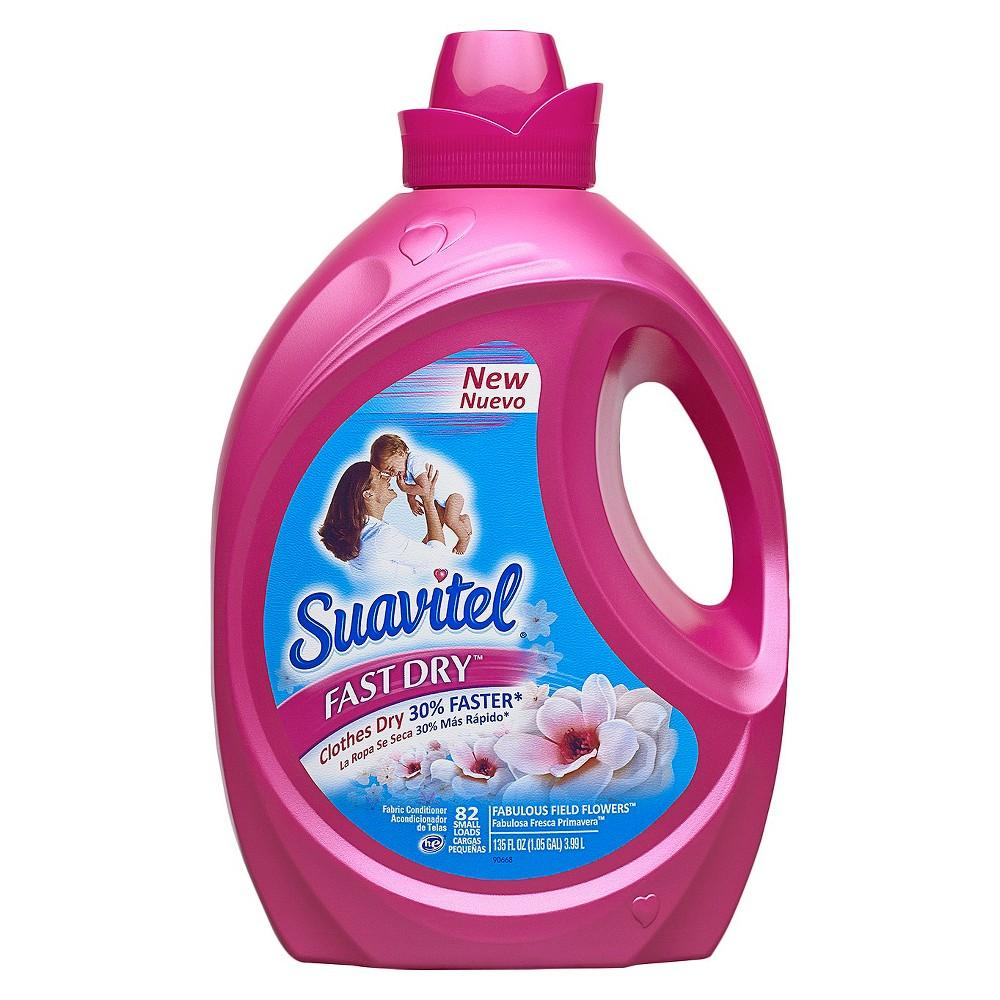 Suavitel Liquid Fabric Softener Fast Dry Fabulous Field Flowers 82