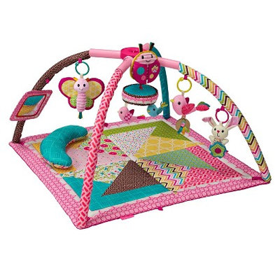 Infantino Go GaGa Deluxe Twist and Fold Gym - Pink