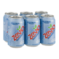 Zevia Zero Calorie Soda Cola Caffeine Free - 6 PK