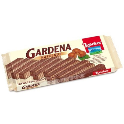 Loacker Large Gardena Wafer, 7.05 Ounce (Pack of 4)