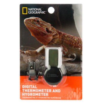National GeographicTM Digital Reptile Thermometer & Hygrometer