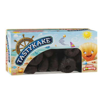 Tastykake®  Rich Frosted Mini Donuts Chocolate