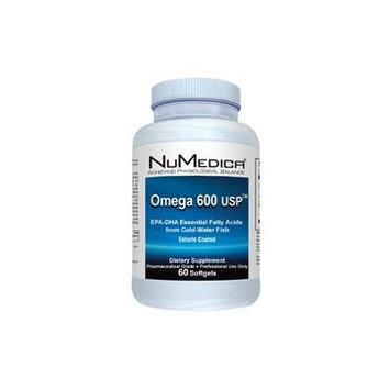 Omega 600 USP Enteric Coated 60 Softgels