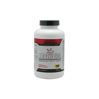 Myogenix MYOGOMFI01200000CP Omega Fish Oil 120ct