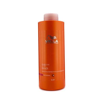 Wella Enrich Moisturizing Shampoo For Dry & Damaged Hair (Fine/Normal) 1000ml/33.8oz