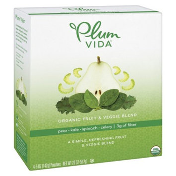 Plum Organics Plum Vida Organic Pear-Kale-Spinach-Celery Fruit and Veggie Juice