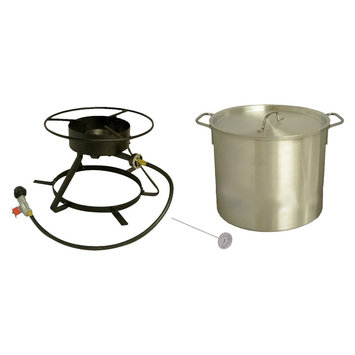 Outdoor Cooker And Fryer: King Kooker Coastal Boiling Outdoor Cooker Package - 5002