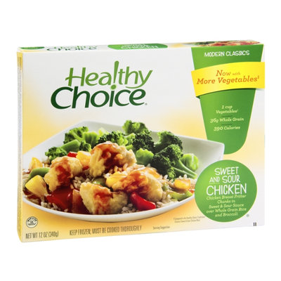 Healthy Choice Modern Classics Sweet and Sour Chicken