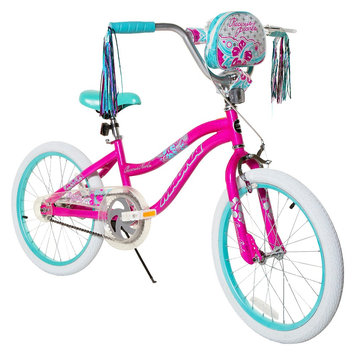 Magna Girls Pearls Bike - Pink/Blue (20