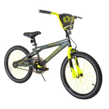 Boy's Magna Rip Claw Bike - Grey/Yellow (20