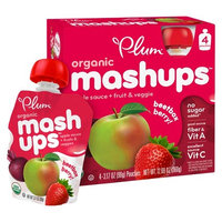 Plum Organics Plum Organic Mashups Beetbox Berry 3.17 oz 4 pk