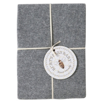 Burt's Bees Baby Organic Knit Terry Changing Pad Cover - Grey