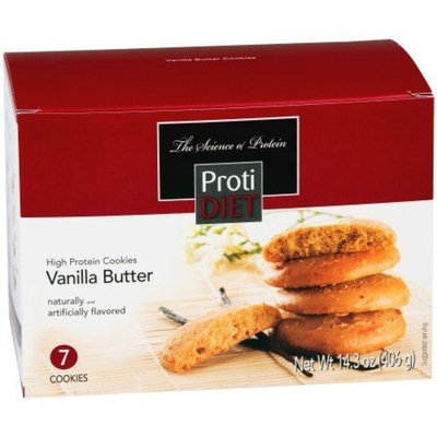 protidiet high protein vanilla butter cookies - 7