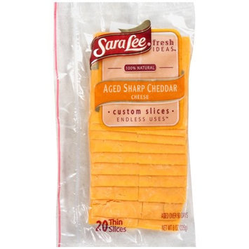 Sara Lee Aged Sharp Cheddar Cheese, 8 oz