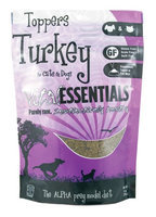 Vital Essentials Freeze Dried Turkey Toppers for Cats and Dogs