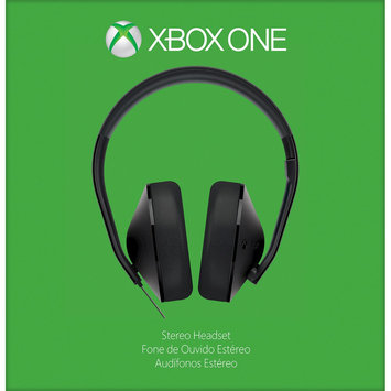 Microsoft Corp. Microsoft Xbox One Stereo Headset - Stereo - USB - Wired - 20 Hz - 20 Khz - Over-the-head - Binaural - Circumaural - Uni-directional Microphone (s4v-00005)