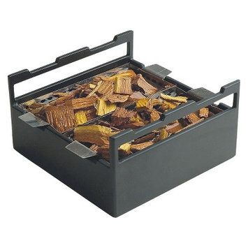 Charcoal Companion Steven Raichlen Soak and Smoke Wood Chip Soaker