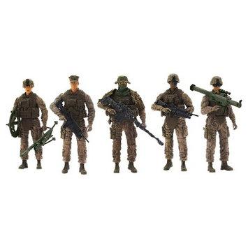 Elite Force Special Ops Action Figure Navy Seals & Delta Force 5 Pk