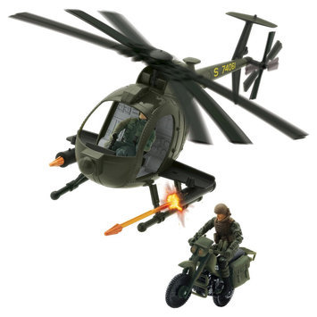 Elite Force Air To Land Mission Playset
