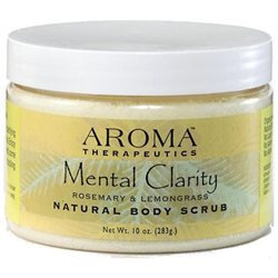 ABRA Therapeutics, Aroma Therapeutics Mental Clarity Body Scrub 10 oz