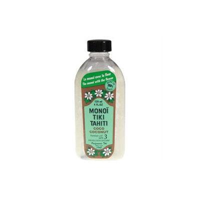 Monoi Tiare Tahiti Coconut Suntan Oil SPF 3 - 4 fl oz