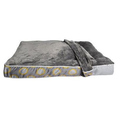 Boots & Barkley Large Rectangle Mattress Pet Bed Cover -Herringbone